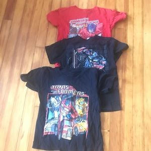 Bundle of 3 Transformers t-shirts